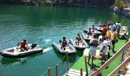 evg calvados speed boat
