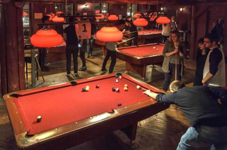 billard paris evjf