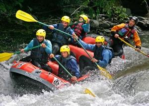 rafting haute garonne