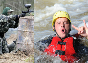 rafting-paintball