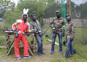 paintball evjf