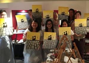 Atelier de peinture ludique EVJF