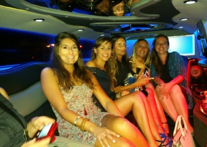 limousine enterrement de vie de jeune fille