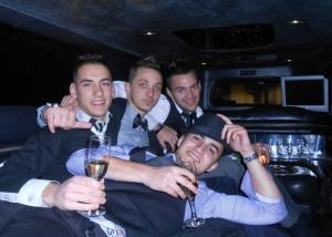 location limousine enterrement vie de garcon bordeaux