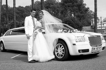 location limousine mariage bassin