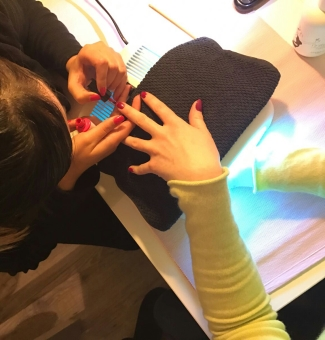 nail party enterrement de vie de fille paris
