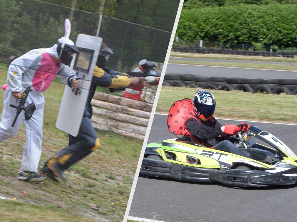 Paintball karting