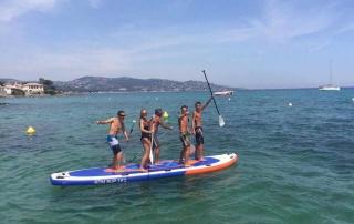 paddle géant activité nautique EVJS EVG