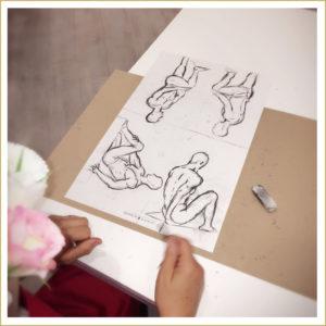 cours dessin pour enterrement de vie de jeune fille lyon