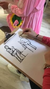 cours dessin modele nu evjf lyon