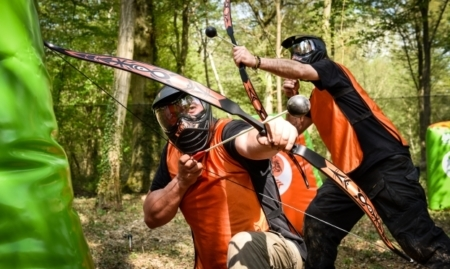 battle archery EVJF EVG paris insolite