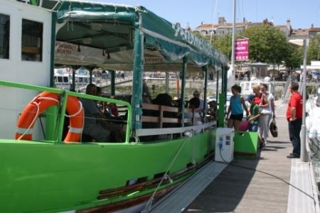 escapade en bateau EVJF EVG La Rochelle