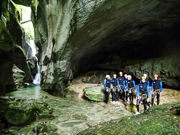 aventure nature canyoning speleo massif du vercors