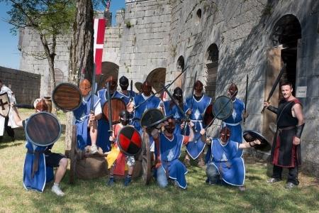activité médiévale evg evjf rennes
