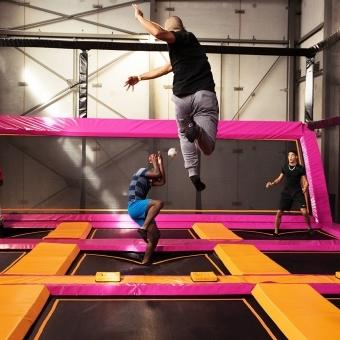 trampoline evg evjf lyon