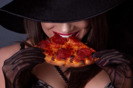 Sexy pizza delivery enterrement de vie de célibataire
