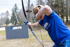 Battle archery enterrement de vie de célibataire